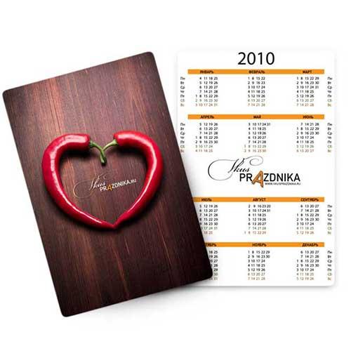 Карманные календари в СПБ