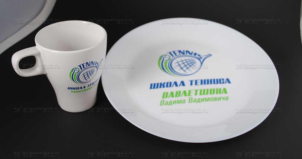 деколирование тарелок